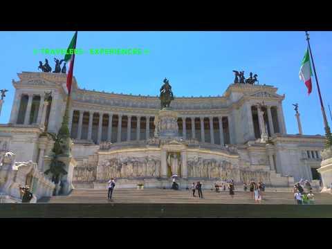 Altare Della Patria - Piazza Venezia - ROMA ITALY - 4K 2017 TRAVEL GUIDE
