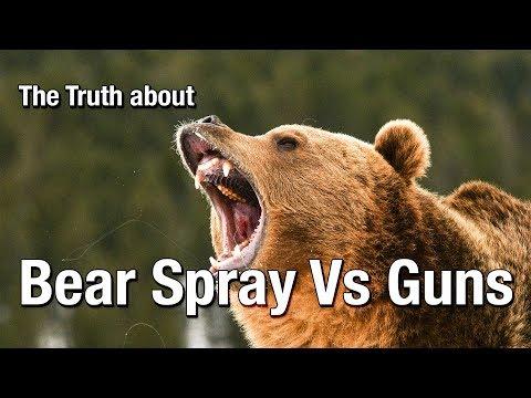 The Truth About Bear Spray Vs Guns