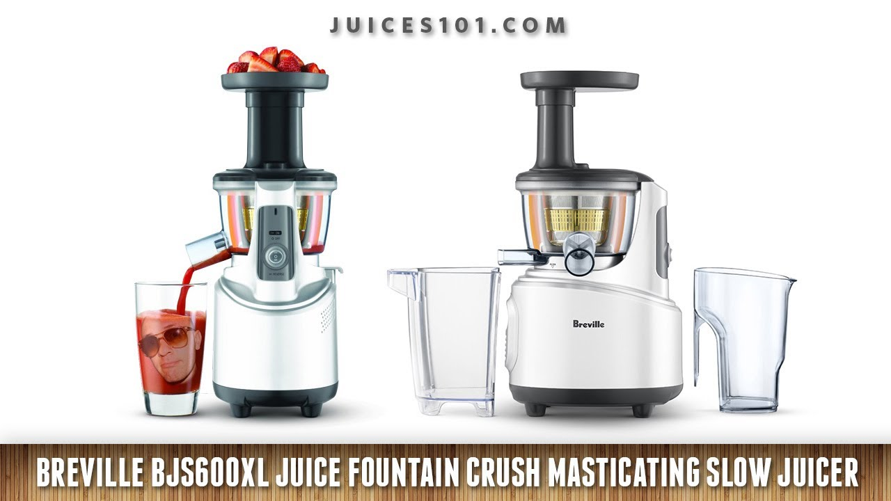Breville Slow Juicer Review : Breville Juice Fountain Crush Review - YouTube