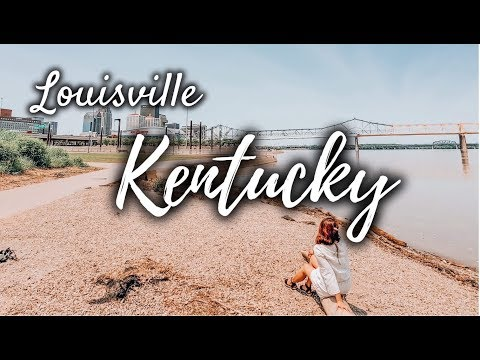 LOUISVILLE KENTUCKY DAY TRIP || WHERE TO GO IN LOUISVILLE || #Kentucky #Louisville