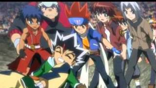 Beyblade. 3,2,1 : Let it Rip ! :D