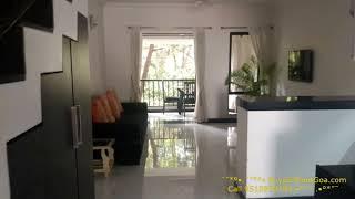 2 BHK Furnished Duplex apartment for Sale in Arpora Goa