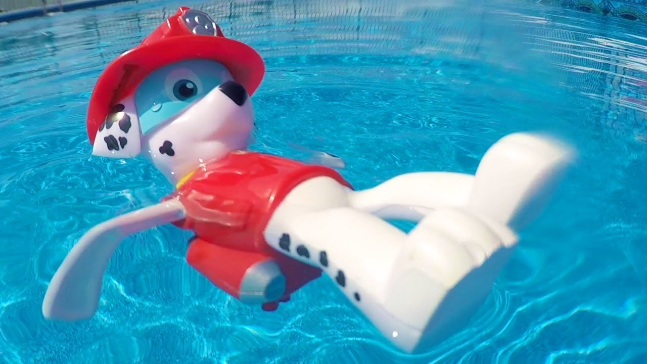 Paw Patrol Pool Party Game With Merpups Chase Skye