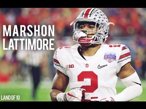 "Marshon Lattimore (Saints) || ""Lattimore Island"" Ohio State Highlight Mix on YouTube"