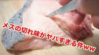 医療用メスの切れ味がどれほどすごいかわかる動画 thumbnail