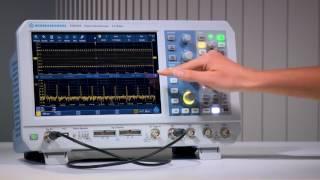 Обзор функций и возможностей осциллографов Rohde&Schwarz RTB2004 и RTB2002
