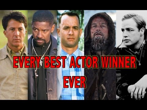 Every Best Actor Winner (1927 - 2016)