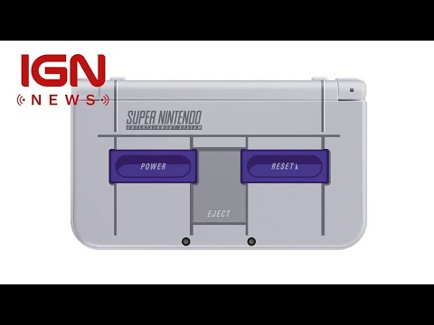 New Nintendo 3DS XL SNES Edition Arrives Next Month in U.S. - IGN News
