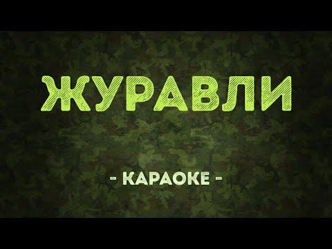 Журавли / Военные песни (Караоке)