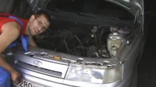 Замена заглушек системы охлаждения. ВАЗ 2110