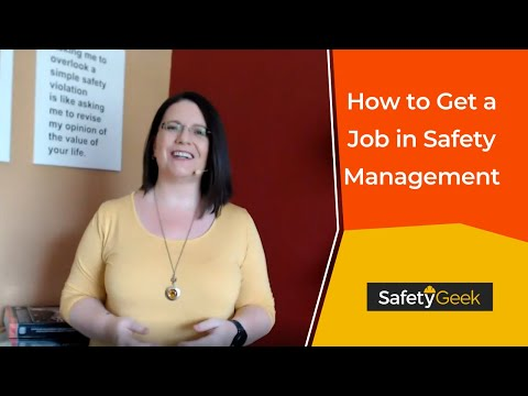 How to Get Started as a Safety Manager