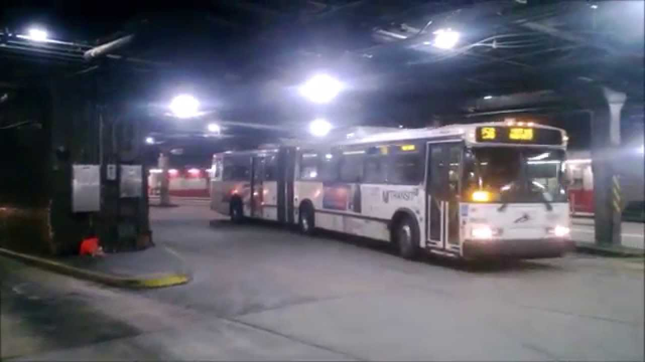 Nj Transit Neoplan An459 Transliner Bus 9628 On The 158 To