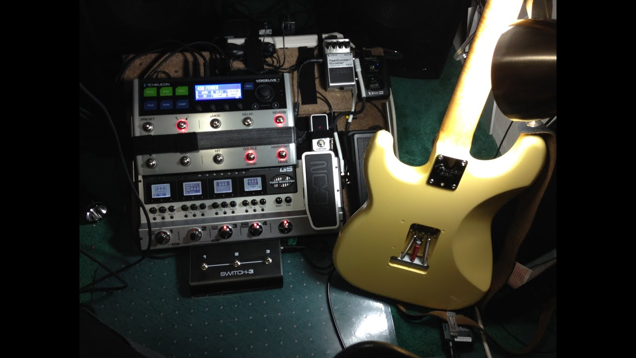 my pedal board tc helicon voicelive 3 zoom g5 sample youtube. Black Bedroom Furniture Sets. Home Design Ideas