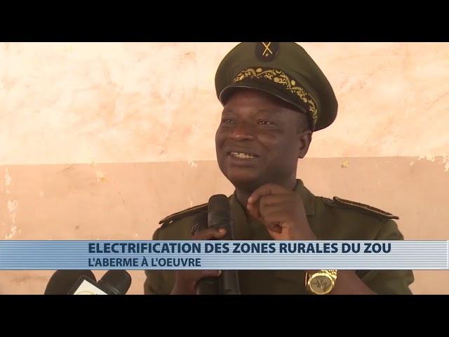 L'Aberme lance l'électrification des zones rurales du Zou