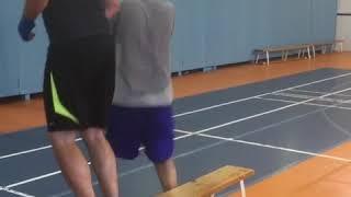 Тренировка по боксу в Кожухово