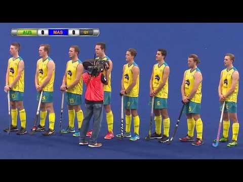Australia v Malaysia Day 5 Sultan of Johor Cup Hockey 2017