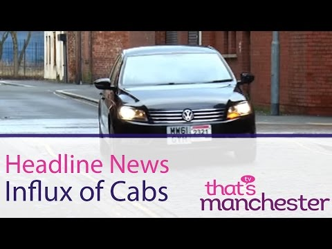 Influx Of Cabs And Private Hire In The City Centre - Manchester Headline News