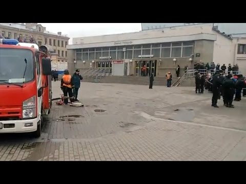 Blast in St. Petersburg subway kill at least 10