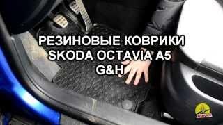 Обзор ковриков в салон Skoda Octavia A5 - Резиновые коврики в салон G&H(Купить автомобильные коврики в салон Skoda Octavia A5 http://www.avtoradosti.com.ua/p/16837.html Звоните сейчас: (044) 451-60-01 (067) 447-68-87..., 2013-12-20T14:27:14.000Z)