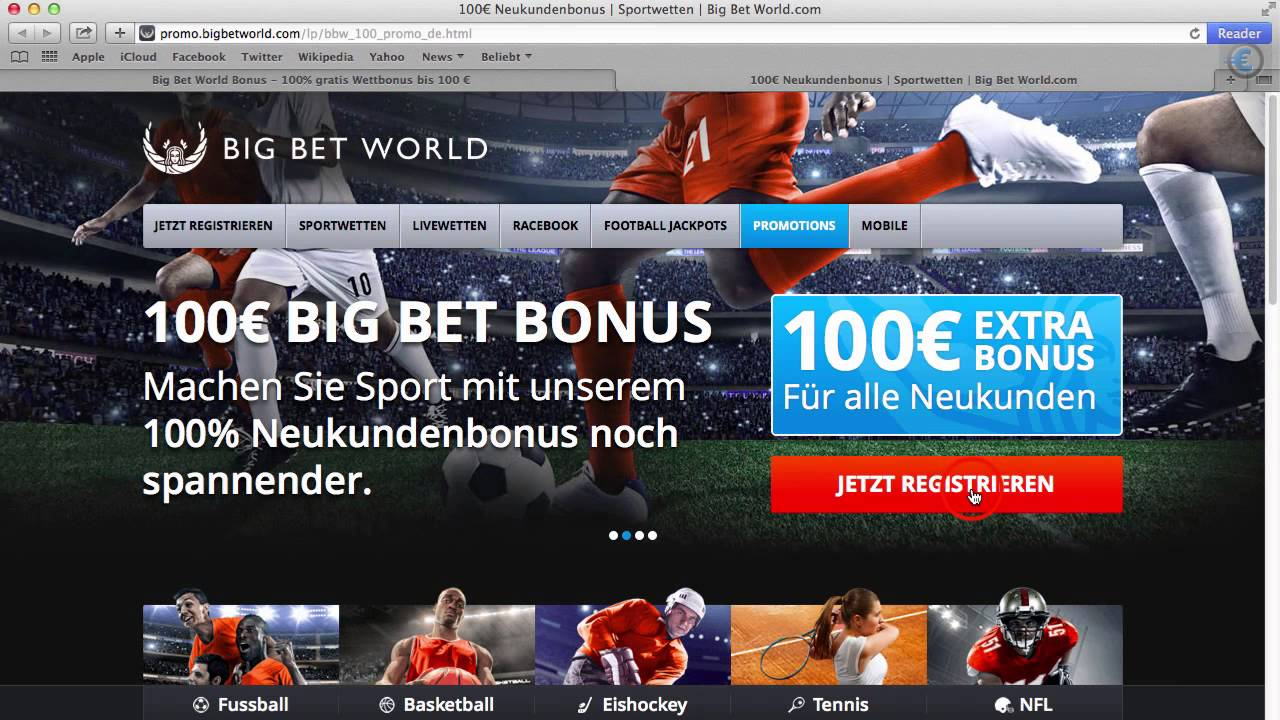 Bigbetworld Bonus