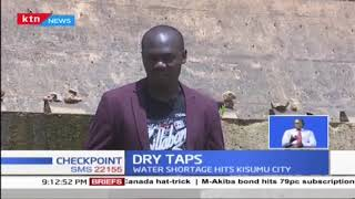 Water shortage hits Kisumu city