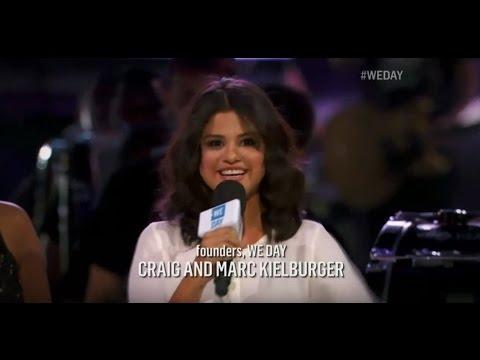 [HD] Selena Gomez hosting We Day Chicago 2015 WeDay