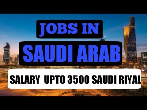 Jobs In Saudi Arabia || Salary Upto 3500 Saudi Riyal || CV Selection || By Gulf Expert