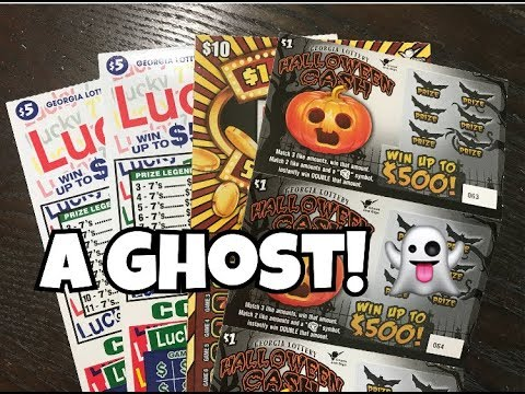 MORE HALLOWEENIE TICKETS!! Georgia Lottery Scratch Off Tickets