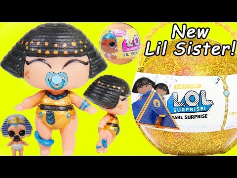 Pharaoh Babe Family Get New Lil Sister Spice | LOL SURPRISE Fun Toys + Dolls for Kids | ToyEggVideos