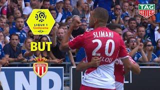 But Islam SLIMANI (11') / RC Strasbourg Alsace - AS Monaco (2-2)  (RCSA-ASM)/ 2019-20