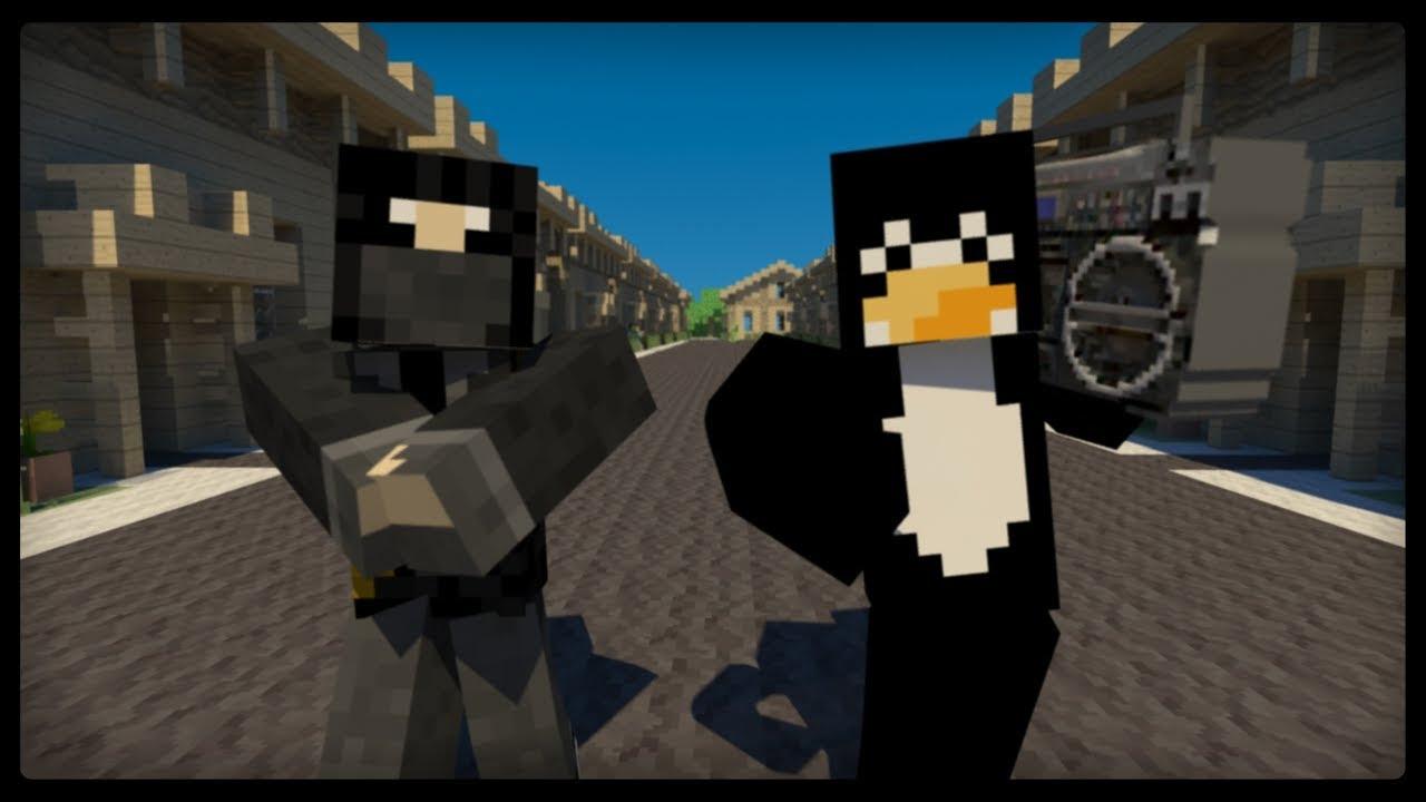 Minecraft Style with Original Audio - PSY Gangnam Style Music Video Parody