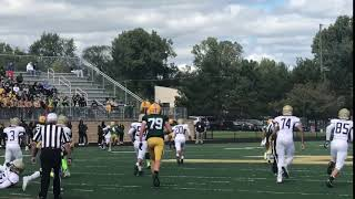 2019 WR/S Andre Demetral (Stoney Creek) makes the over shoulder catch