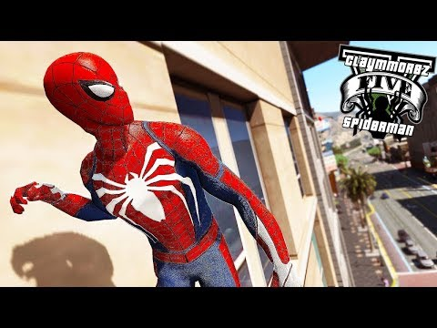 Spiderman VS Green Goblin! Spiderman Fight Crimes (GTA 5 Spiderman Mod)