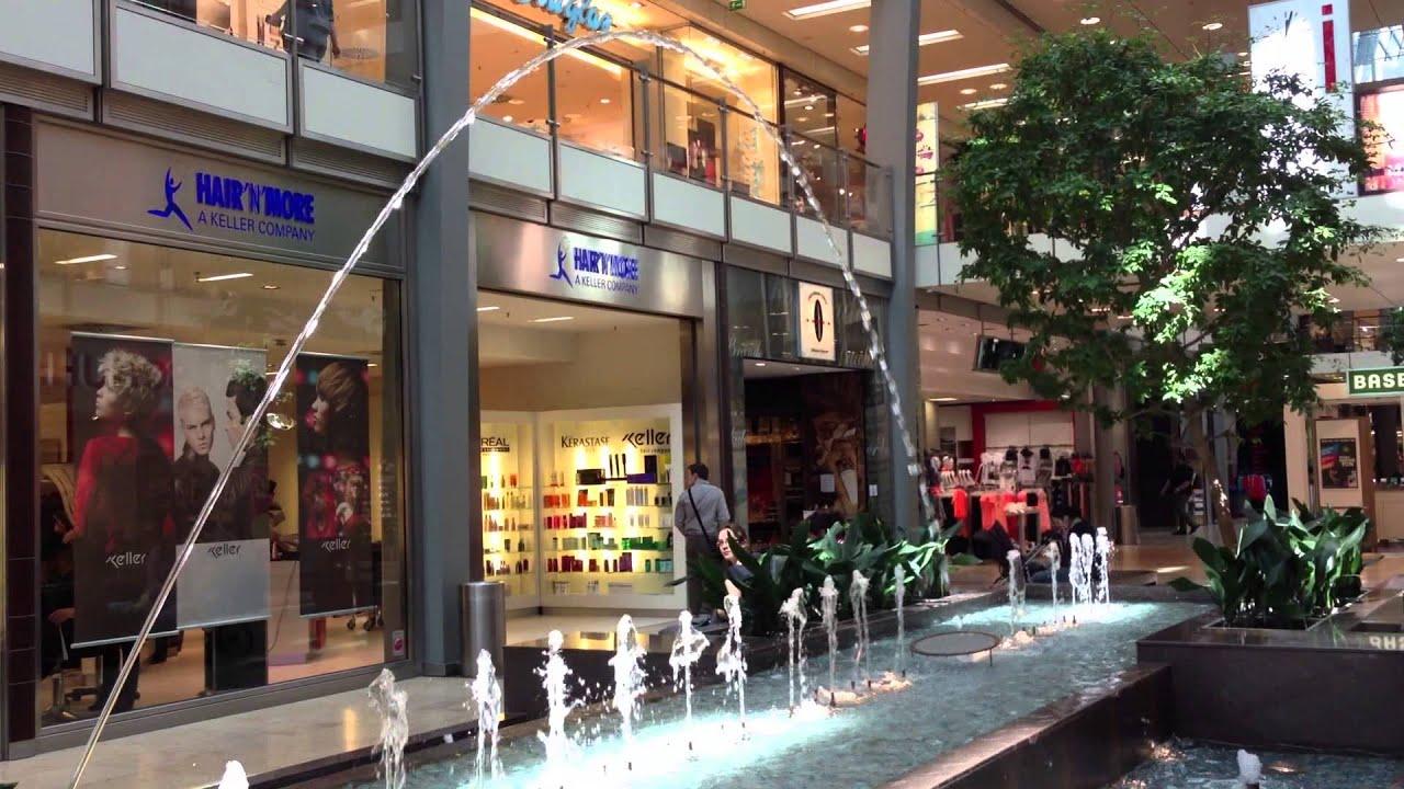 Fountain Shopping Ettlinger Tor Karlsruhe Youtube