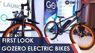 GoZero Electric Bikes First Look   NDTV carandbike