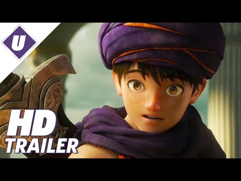 Dragon Quest Your Story Official Movie Trailer Japanese Youtube