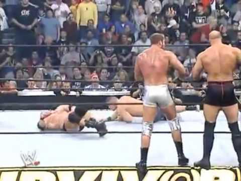 Survivor Series 2003 Team Angle Vs Team Lesnar Highlights