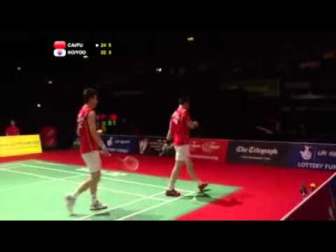 Fu Haifeng ¡smashing! World championship finals 2011 MD. Up to 301Kmh