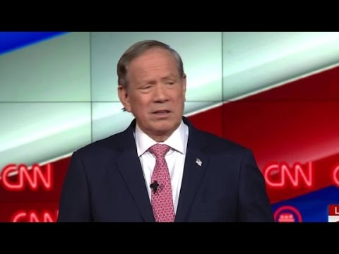 Gov. Pataki attacks Donald Trump in opening remarks