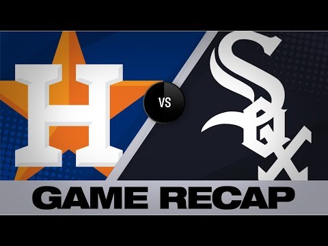 Nova dominates for White Sox in 4-1 victory | Astros-White Sox Game Highlights 8/13/19