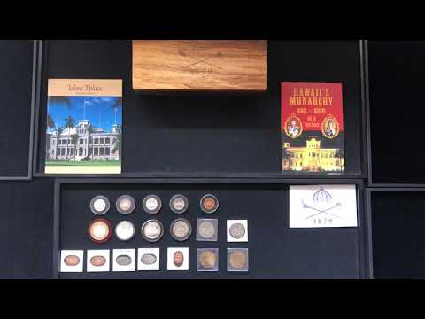 Iolani Palace coin collection