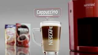 Creating A Foamy Cappuccino with NESCAFÉ RED MUG Machine