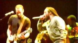 "Ziggy Marley feat. Ben Harper ""I Shot The Sheriff"" Live at Club Nokia December 17, 2011 Part 1"