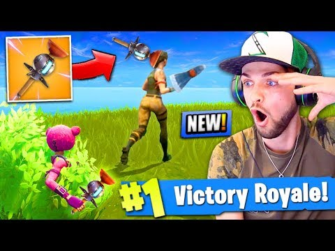 *NEW* CLINGER GRENADE GAMEPLAY in Fortnite: Battle Royale!