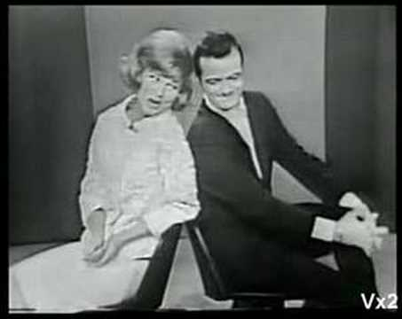 PHYLLIS McGUIRE & ROBERT GOULET:  Darn It Baby, That's Love