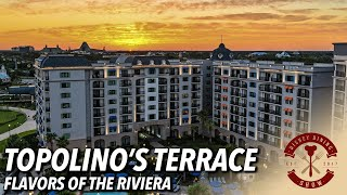 Topolino's Terrace  Flavors of the Riviera Dinner Review | Disney Dining Show