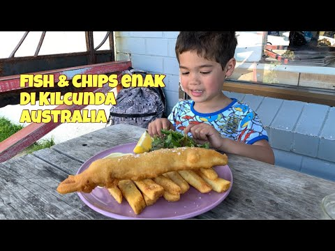 FISH AND CHIPS ENAK DI AUSTRALIA | KILCUNDA GENERAL STORE | #KULINERAUSTRALIA