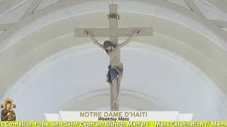 Mass Celebration // Memorial of Saints Cornelius, Pope, and Saint Cyprian, Bishop, Martyrs 09.16.21