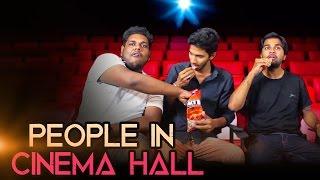 People in Cinema Hall - Kantri Guyz