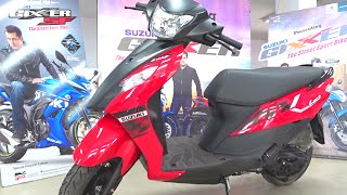 #ScooterFest: New Suzuki Lets Dual Tone Walkaround Review (3 Colours, 2016)